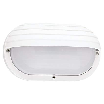 Sea Gull Lighting 89805BLE-15 Bayside Outdoor Wall Lantern White