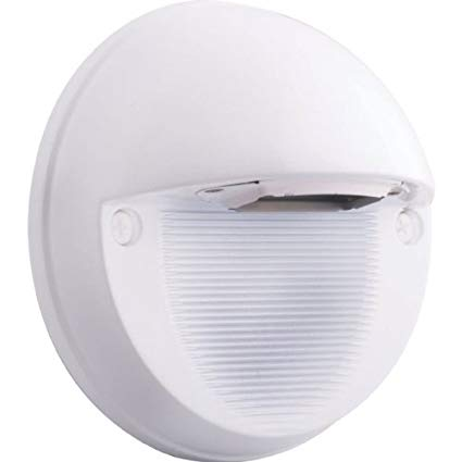 RAB SLEDR5NW Steplight 5 Round 5W Neutral Color Temp Led, White Color