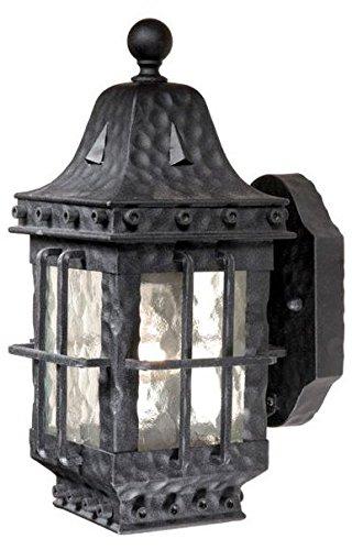 Vaxcel One Light Outdoor Wall Light ED-OWD050TB One Light Outdoor Wall Light