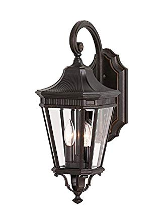 Feiss OL5401GBZ-LED Cotswold Lane LED Outdoor Patio Wall Lantern, 1-Light, Bronze (9