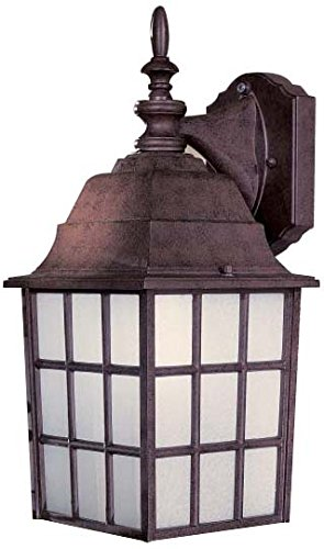 Minka Lavery Outdoor Wall Light 8718-91 Bridgeport Exterior Wall Lantern, 40 Watts, Bronze
