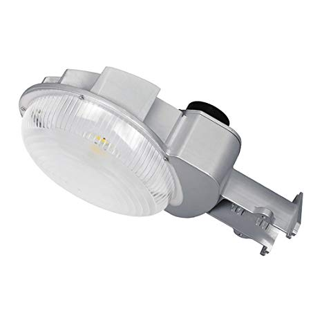 [Dusk to Dawn Photocell Included] LEDLAND® D2D LED Yard Light (CREE® COB LEDs inside), 70Watts (175W MH Comparable), 7000Lumens, 5000K (Daylight White), 120-277VAC, UL Listed and DLC-Qualified
