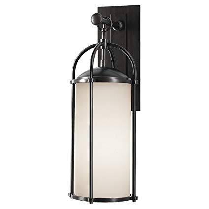 Feiss OL7601ES Dakota 1- Light Wall Lantern in Espresso