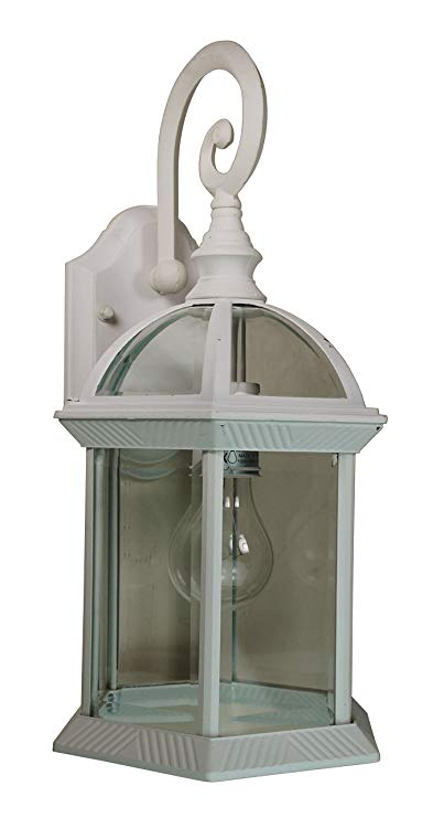 Trans Globe Lighting 4181 WH Outdoor Wentworth 15.75