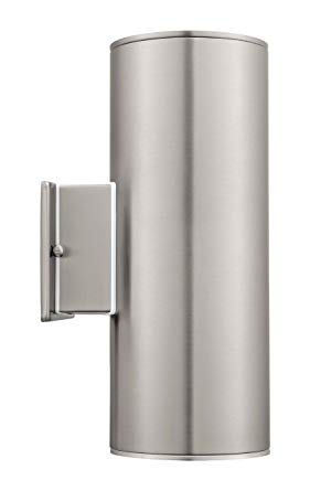 Eglo 90121A Ascoli Wall Light, Stainless Steel