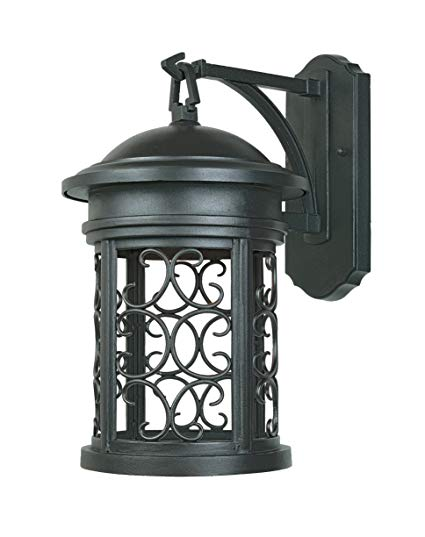 Designers Fountain 31121-ORB Ellington-DS Wall Lanterns, Oil Rubbed Bronze
