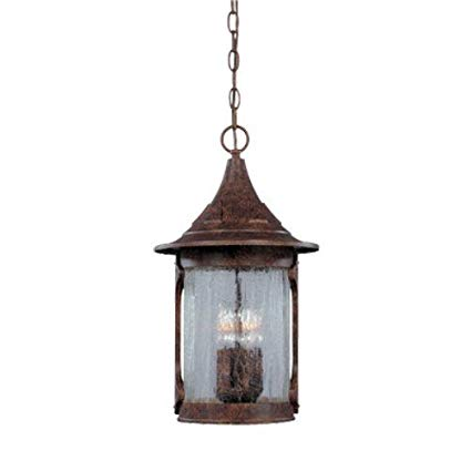 Designers Fountain 20934-CHN 11 Cast Hanging Lantern Canyon Lake