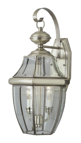 Trans Globe Lighting 4320 BN Outdoor Courtyard 20.5