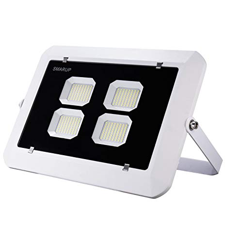 SMARUP 200W LED Flood Light,360degree Adjustable LED Reflector,Slim and Lighter LED Food Light,110V Good Heat Dissipation LED Flood Light IP65 Water Proof