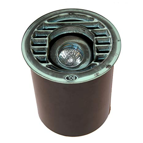 Best Quality Lighting LV42VRD Finished Outdoor Path Light with Metal Shade, Green Verde