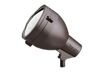 Kichler 15251AZT HID High Intensity Discharge Accent 1-Light 120V, Textured Architectural Bronze