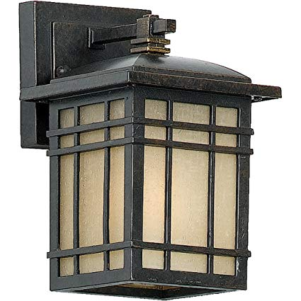 Quoizel HC8406IB 1-Light Hillcrest Outdoor Lantern in Imperial Bronze